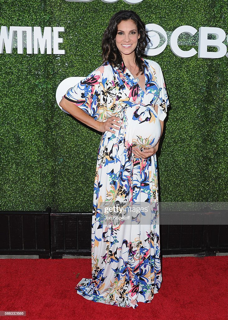 Actress Daniela Ruah arrives at CBS, CW, Showtime Summer TCA Party at Pacific Design Center on August 10, 2016 in West Hollywood, California.