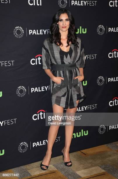Actress Daniela Ruah attends The Paley Center for Media's 34th Annual PaleyFest Los Angeles presentation of 'NCIS Los Angeles' at Dolby Theatre on...