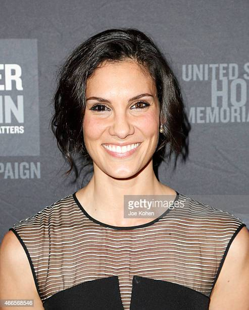 Actress Daniela Ruah attends the United States Holocaust Memorial Museum 2015 Los Angeles Dinner at The Beverly Hilton Hotel on March 16 2015 in...