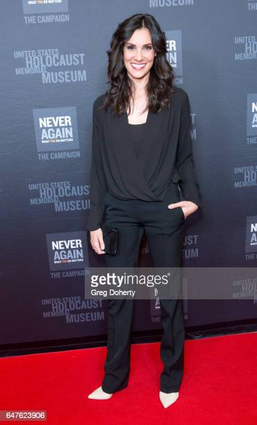 Actress Daniela Ruah attends the United States Holocaust Memorial Museum Presents 2017 Los Angeles Dinner What You Do Matters at The Beverly Hilton...