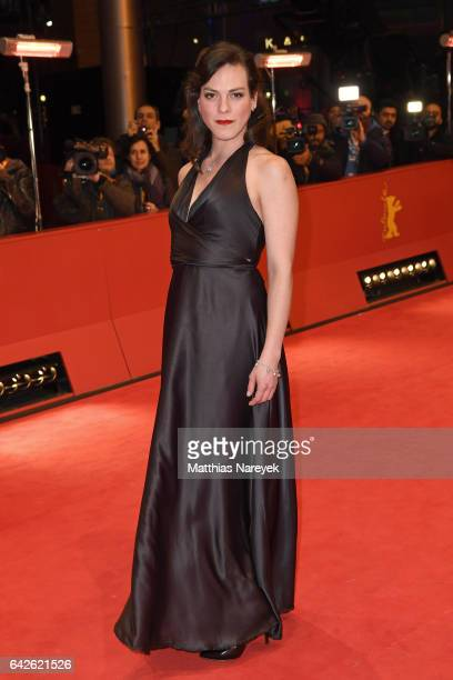 Actress Daniela Vega arrives for the closing ceremony of the 67th Berlinale International Film Festival Berlin at Berlinale Palace on February 18...