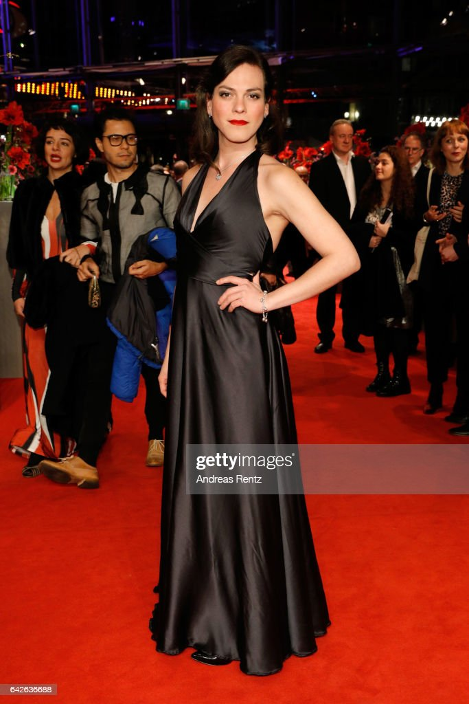 Actress Daniela Vega arrives for the closing ceremony of the 67th Berlinale International Film Festival Berlin at Berlinale Palace on February 18, 2017 in Berlin, Germany.