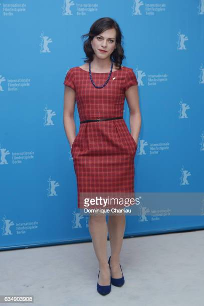 Actress Daniela Vega attends the 'A Fantastic Woman' photocall during the 67th Berlinale International Film Festival Berlin at Grand Hyatt Hotel on...