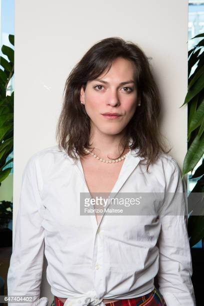 Actress Daniela Vega is photographed for The Hollywood Reporter on February 13 2017 in Berlin Germany