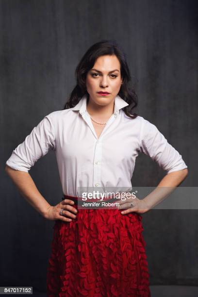 Actress Daniela Vega of 'Fantastic Woman' is photographed at the 2017 Toronto Film Festival on September 13 2017 in Toronto Ontario