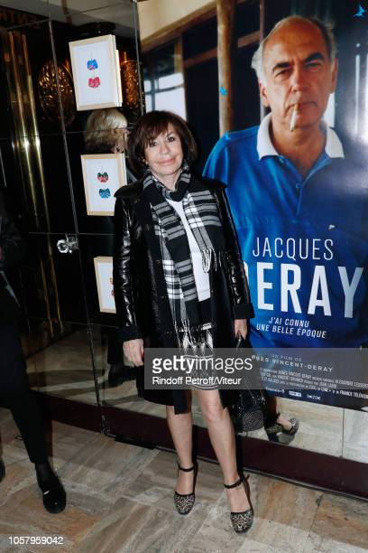 Actress Daniele Evenou attends the Tribute to Jacques Deray with the Jacques Deray J'ai connu une belle Epoque screening at Theatre Antoine on...