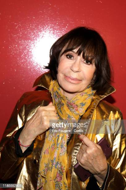Actress Daniele Evenou poses during a portrait session on October 02 2019 in Paris France
