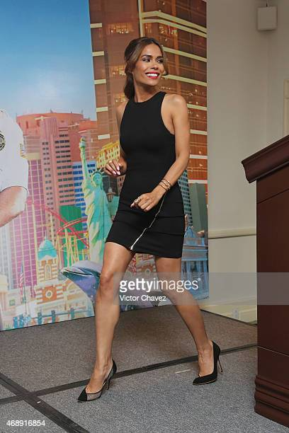 Actress Daniella Alonso attends a photocall to promote the film Paul Blart Mall Cop 2 at Four Seasons Hotel on April 8 2015 in Mexico City Mexico