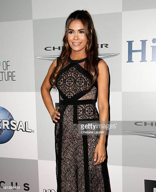 Actress Daniella Alonso attends the NBCUniversal 2015 Golden Globe Awards Party sponsored by Chrysler at The Beverly Hilton Hotel on January 11 2015...