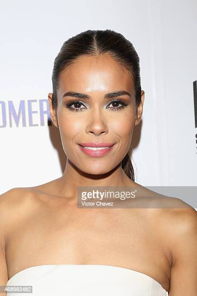 Actress Daniella Alonso attends the Paul Blart Mall Cop 2 Mexico City advance screening at Cinemex Antara Polanco on April 8 2015 in Mexico City...