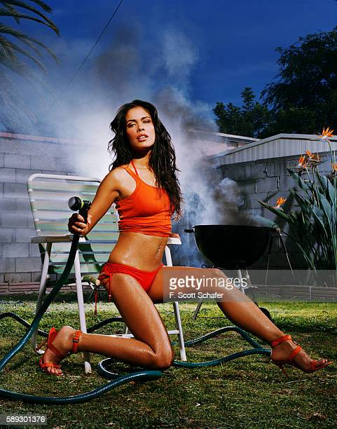 Actress Daniella Alonso is photographed for Maxim Magazine in 2006 in Los Angeles California PUBLISHED IMAGE Hair by Christophe Saluzzo and makeup by...