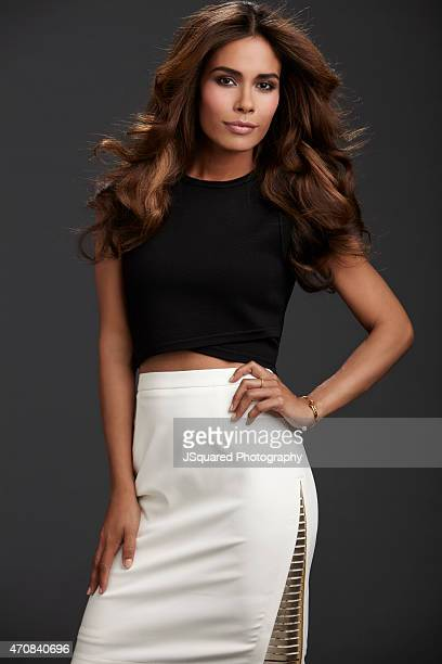 Actress Daniella Alonso is photographed for Self Assignment on July 23 2014 in Los Angeles California