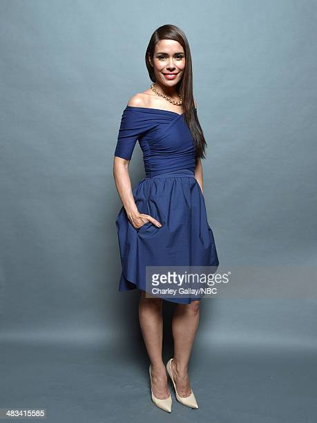 Actress Daniella Alonso poses for a portrait during the 2014 NBCUniversal Summer Press Day at The Langham Huntington on April 8, 2014 in Pasadena,...