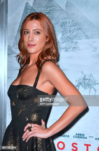 Actress Daniella Garcia arrives for the World Premiere of the film Geostorm in Hollywood California on October 16 2017 Geostorm opens in theaters on...