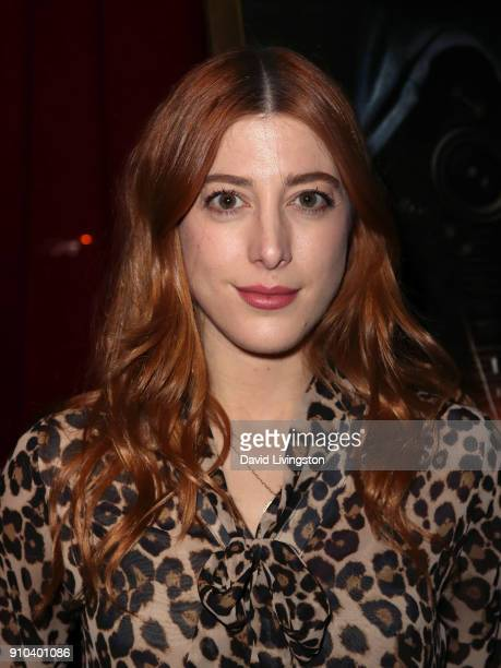 Actress Daniella GarciaLorido attends the premiere of Parade Deck Films' Desolation at Ahrya Fine Arts Theater on January 25 2018 in Beverly Hills...