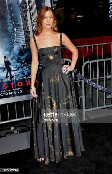 Actress Daniella GarciaLorido attends the premiere of Warner Bros Pictures' 'Geostorm' at TCL Chinese Theatre on October 16 2017 in Hollywood...