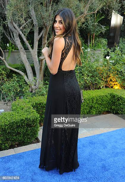 Actress Daniella Monet arrives at Mercy For Animals Hidden Heroes Gala 2016 at Vibiana on September 10, 2016 in Los Angeles, California.