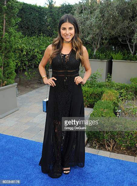 Actress Daniella Monet arrives at Mercy For Animals Hidden Heroes Gala 2016 at Vibiana on September 10 2016 in Los Angeles California