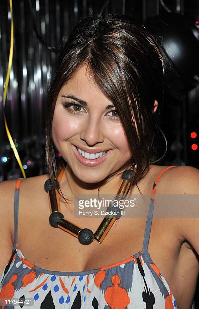 Actress Daniella Monet attends Drake Bell's Birthday Celebration at Greenhouse on June 27 2011 in New York City