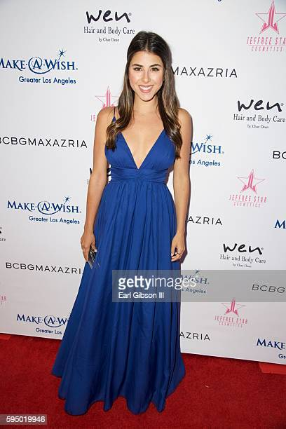 Actress Daniella Monet attends the MakeAWish Greater Los Angeles Fashion Fundraiser at Taglyan Cultural Complex on August 24 2016 in Hollywood...