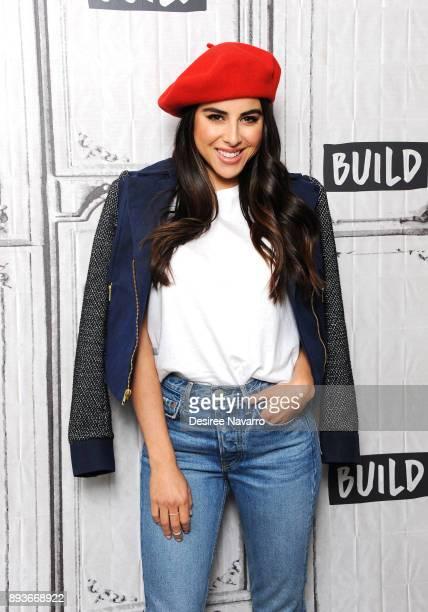 Actress Daniella Monet visits Build Series to discuss 'Paradise Run' at Build Studio on December 15 2017 in New York City