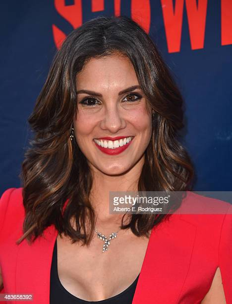 Actress Daniella Ruah attends CBS' 2015 Summer TCA party at the Pacific Design Center on August 10 2015 in West Hollywood California