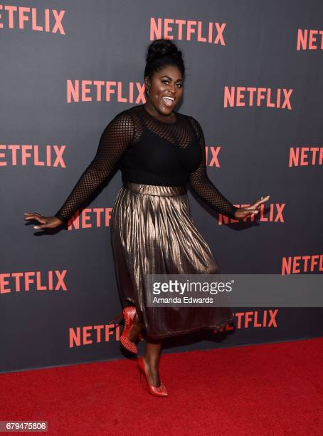 Actress Danielle Brooks arrives at Netflix's 'Orange Is The New Black' For Your Consideration Event at the Saban Media Center on May 5 2017 in North...