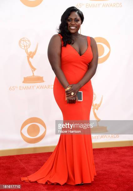 Actress Danielle Brooks arrives at the 65th Annual Primetime Emmy Awards held at Nokia Theatre LA Live on September 22 2013 in Los Angeles California
