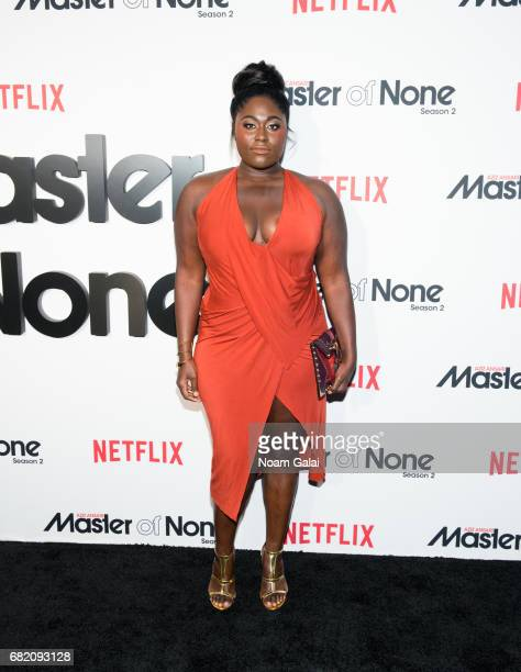 """Actress Danielle Brooks attends """"Master Of None"""" Season 2 premiere at SVA Theatre on May 11, 2017 in New York City."""