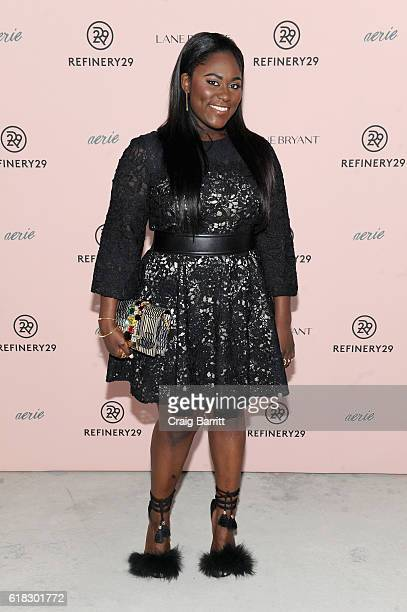 Actress Danielle Brooks attends Refinery29's Every Beautiful Body Symposium at Brookfield Place on October 26 2016 in New York City
