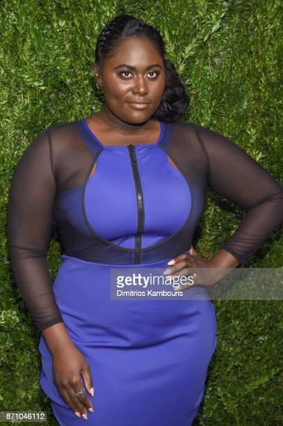 Actress Danielle Brooks attends the 14th Annual CFDA/Vogue Fashion Fund Awards at Weylin B Seymour's on November 6 2017 in the Brooklyn borough of...