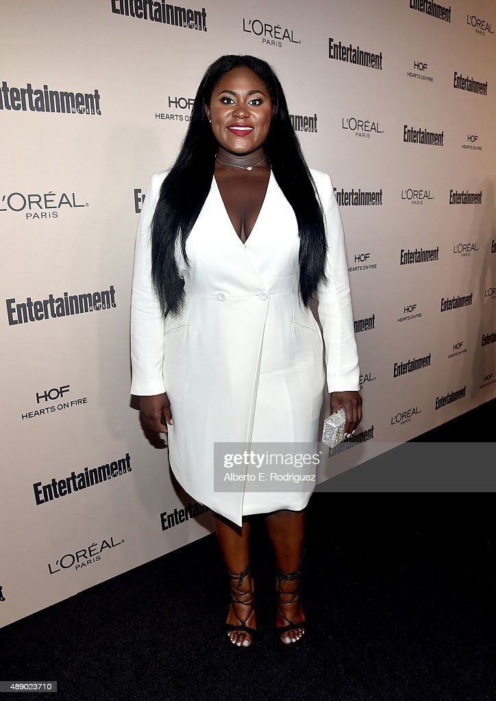 Actress Danielle Brooks attends the 2015 Entertainment Weekly Pre-Emmy Party at Fig & Olive Melrose Place on September 18, 2015 in West Hollywood, California.