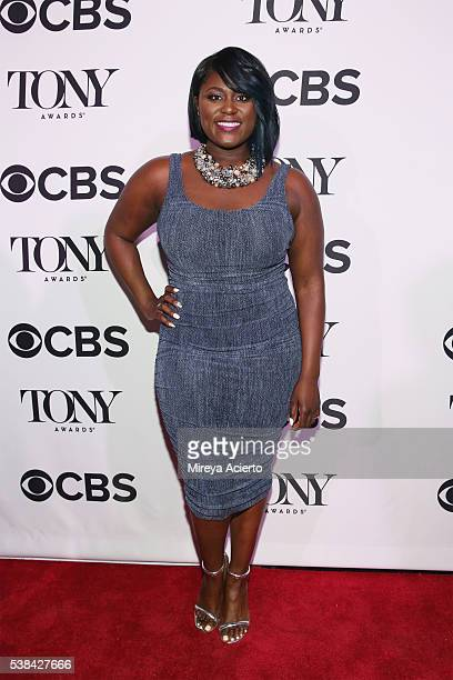 Actress Danielle Brooks attends the 2016 Tony Honors Cocktail Party at The Diamond Horseshoe on June 6 2016 in New York City