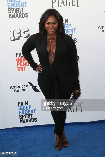 Actress Danielle Brooks attends the 2017 Film Independent Spirit Awards on February 25 2017 in Santa Monica California