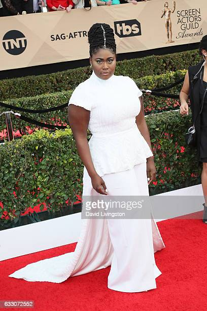 Actress Danielle Brooks attends the 23rd Annual Screen Actors Guild Awards at The Shrine Expo Hall on January 29 2017 in Los Angeles California