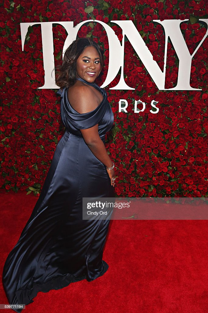 Actress Danielle Brooks attends the 70th Annual Tony Awards at The Beacon Theatre on June 12, 2016 in New York City.