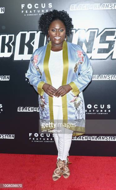 Actress Danielle Brooks attends the 'BlacKkKlansman' New York premiere at Brooklyn Academy of Music on July 30 2018 in New York City