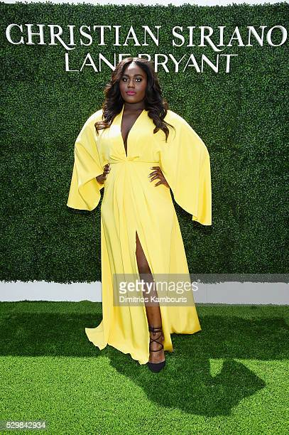 Actress Danielle Brooks attends the Christian Siriano x Lane Bryant Runway Show at United Nations on May 9 2016 in New York City