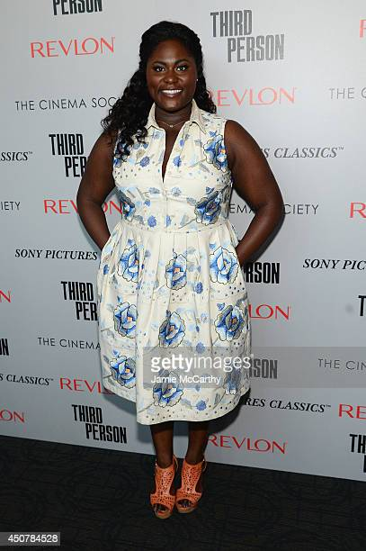 Actress Danielle Brooks attends The Cinema Society Revlon screening of Sony Pictures Classics' 'Third Person' on June 17 2014 in New York City