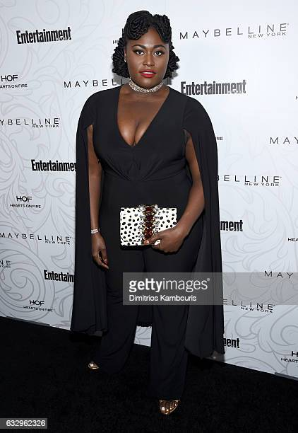 Actress Danielle Brooks attends the Entertainment Weekly Celebration of SAG Award Nominees sponsored by Maybelline New York at Chateau Marmont on...