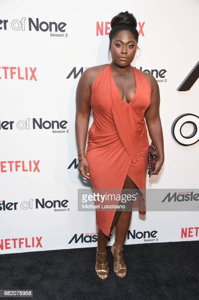 Actress Danielle Brooks attends the Netflix Master Of None S2 Premiere NY Screening 2017 on May 11 2017 in New York City