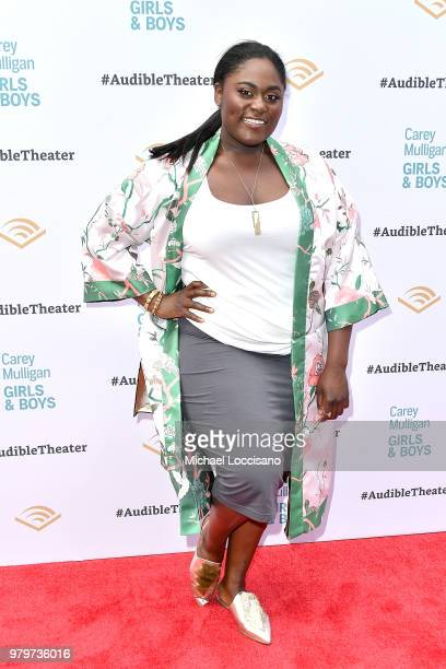 Actress Danielle Brooks attends the OffBroadway opening night of Girls Boys at the Minetta Lane Theatre on June 20 2018 in New York City