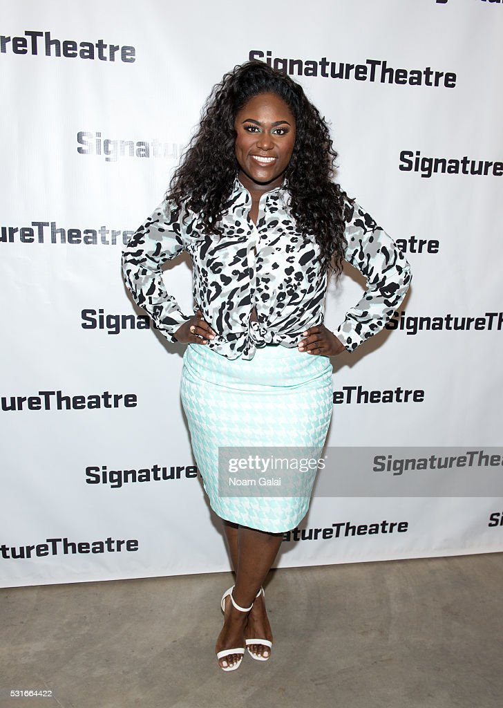 Actress Danielle Brooks attends the opening night of 'Daphne's Dive' at Signature Theatre Company's Pershing Square Signature Center on May 15, 2016 in New York Cit