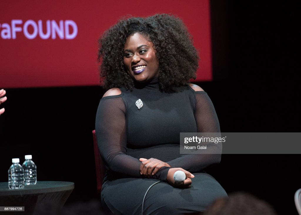 Actress Danielle Brooks attends the SAG-AFTRA Foundation Conversations: 'Orange Is the New Black' at The Robin Williams Center on December 7, 2017 in New York City.