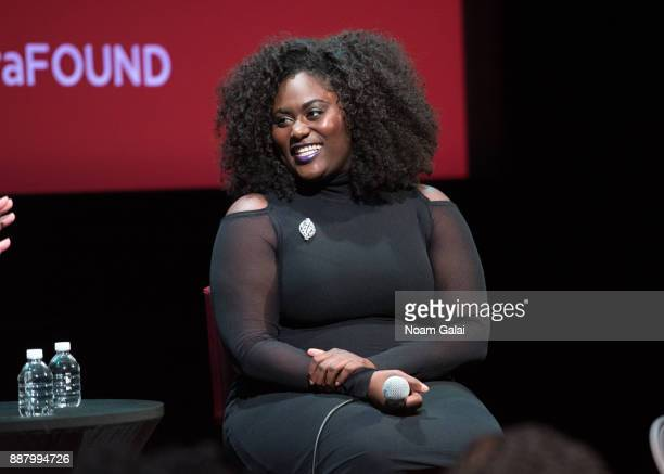 Actress Danielle Brooks attends the SAGAFTRA Foundation Conversations 'Orange Is the New Black' at The Robin Williams Center on December 7 2017 in...