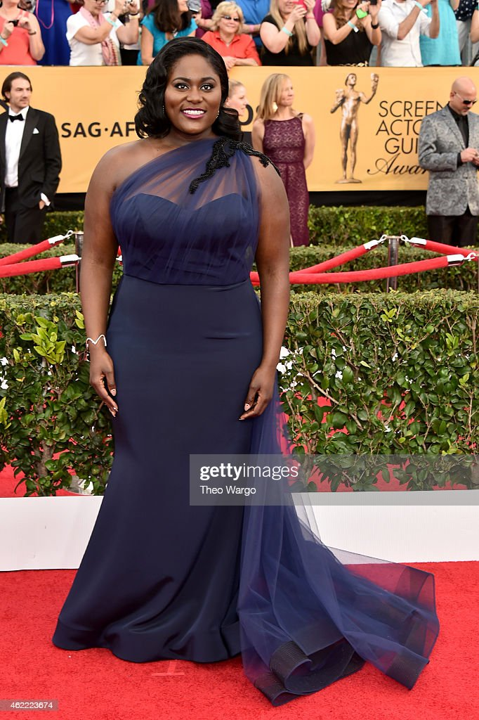 Actress Danielle Brooks attends TNT's 21st Annual Screen Actors Guild Awards at The Shrine Auditorium on January 25, 2015 in Los Angeles, California. 25184_018