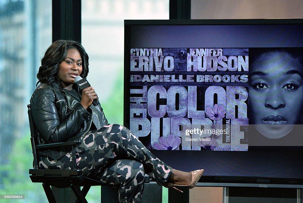 "AOL Build Speaker Series - Danielle Brooks, Broadway's ""The Color Purple"""