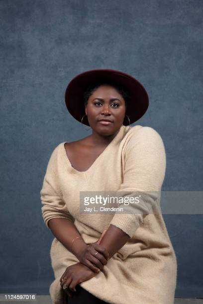 Actress Danielle Brooks from 'Clemency' is photographed for Los Angeles Times on January 27 2019 at the 2019 Sundance Film Festival in Salt Lake City...