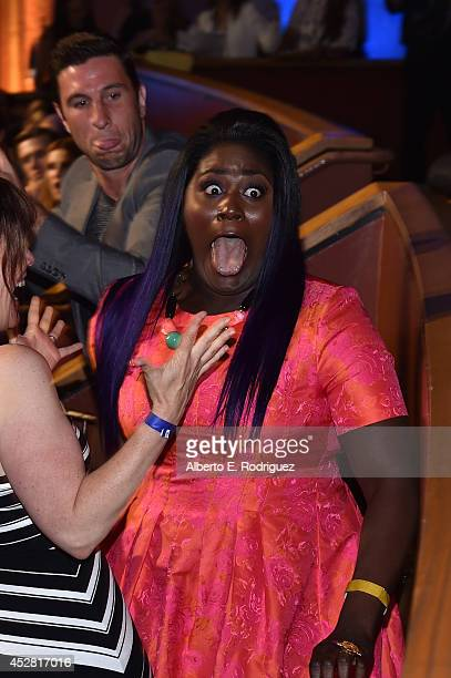 Actress Danielle Brooks in the audience at the 2014 Young Hollywood Awards brought to you by Samsung Galaxy at The Wiltern on July 27 2014 in Los...
