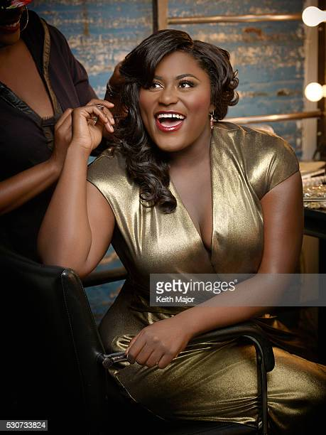 Actress Danielle Brooks is photographed for Ebony Magazine on July 21 2015 in New York City